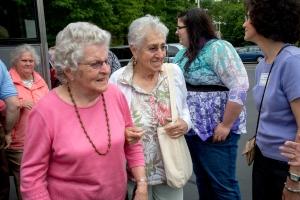 Seniors entering Lantana
