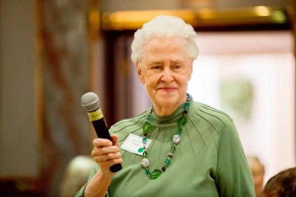 Ellie Leach at MABVI's Senior Connection 2014