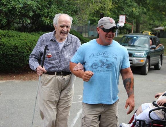 Steve Jordan guiding an individual